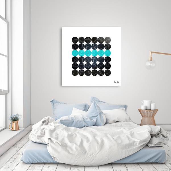 Abstract Circles | spiral pattern no. 3 - CURIOOS Onlineshop