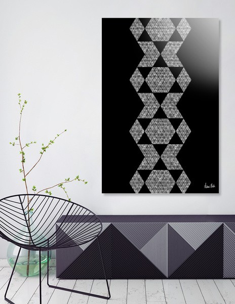 Abstract Geometric | retro style no. 6 - CURIOOS Onlineshop