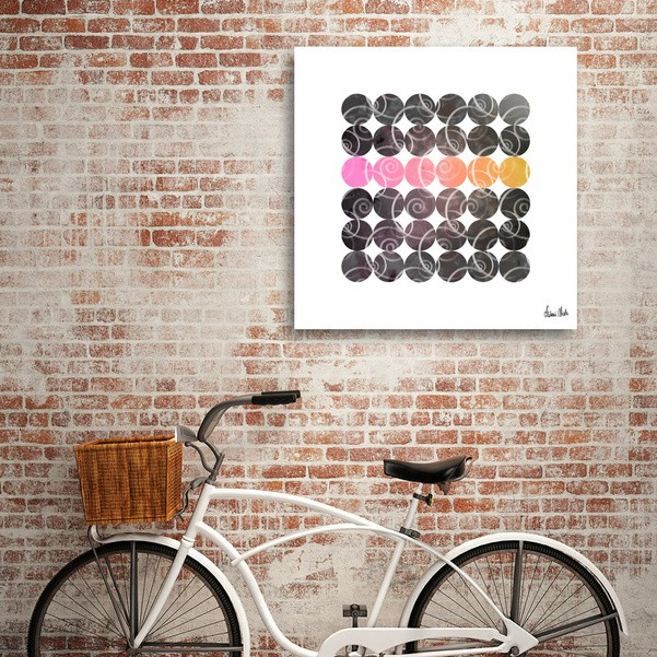 Abstract Circles | spiral pattern no. 2 - CURIOOS Onlineshop