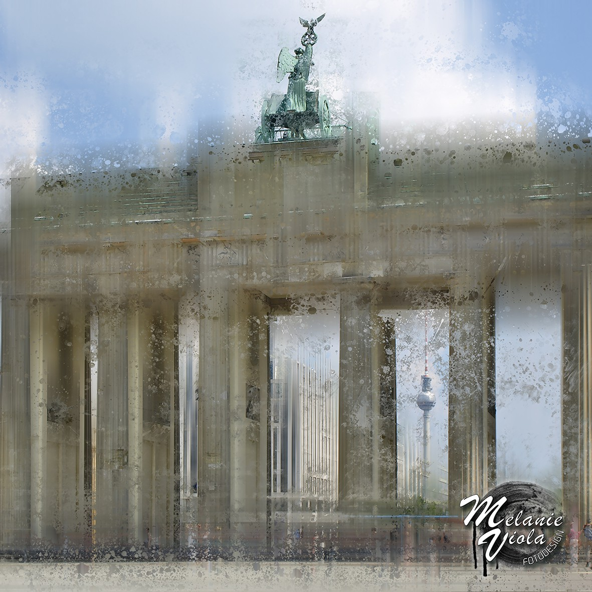 City-Art BERLIN Brandenburger Tor