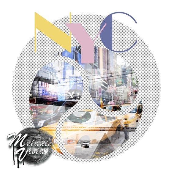 TRENDY DESIGN New York City | Geometric Mix No 1 - OhMyPrints Onlineshop