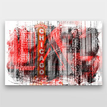 Chicago | Geometric Mix No. 4 - Link zum artboxONE Onlineshop
