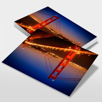 Golden Gate Bridge am Abend - Link zum artboxONE Onlineshop