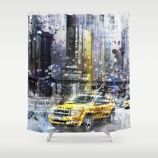 SOCIETY6.COM Duschvorhang / Shower Curtain
