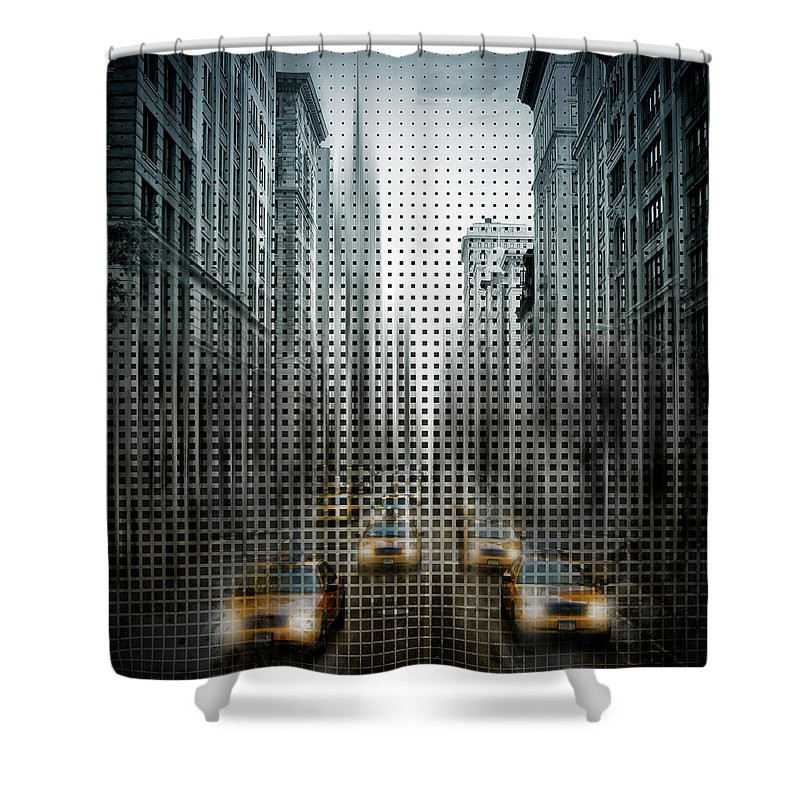 PIXELS.COM Duschvorhang / Shower Curtain
