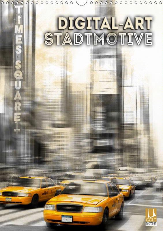 "KALENDER ""Digital-Art Stadtmotive"""