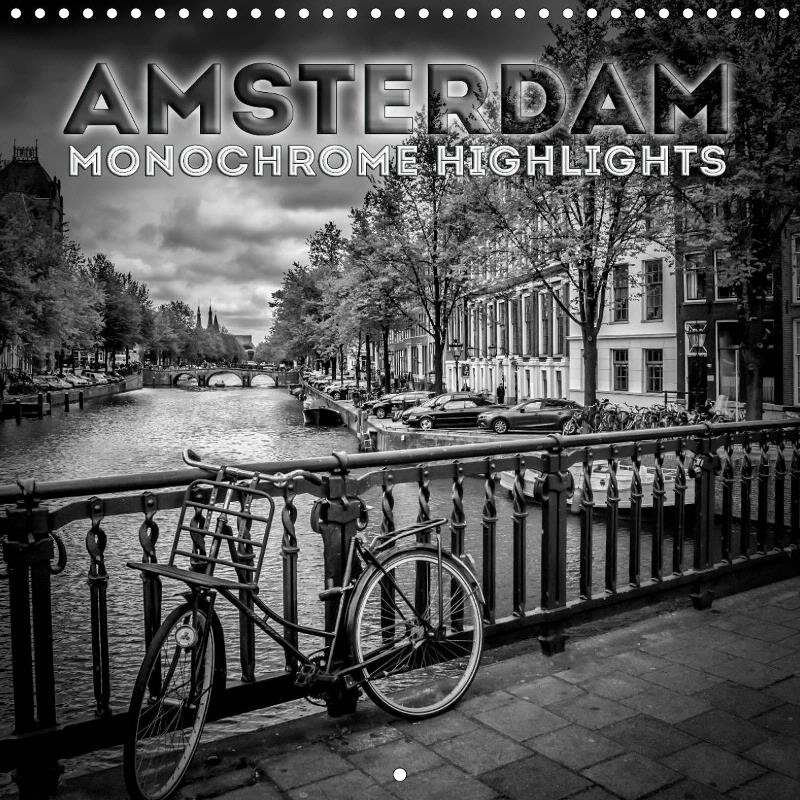 "CALENDAR ""AMSTERDAM Monochrome Highlights"""