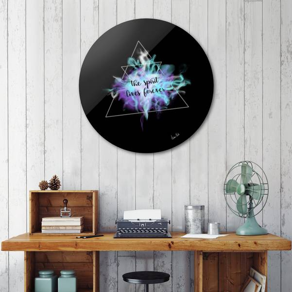CURIOOS - Disk - Trendy Phrases | the spirit lives forever no. 3