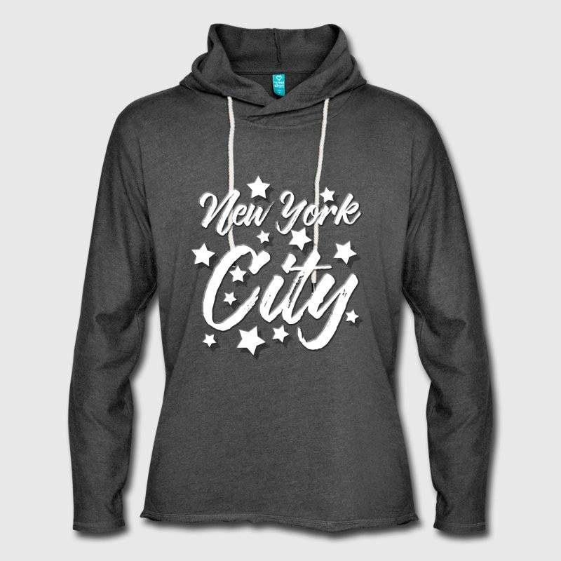 "LINK - SPREADSHIRT Leichtes Kapuzensweatshirt ""NEW YORK CITY Desighn 