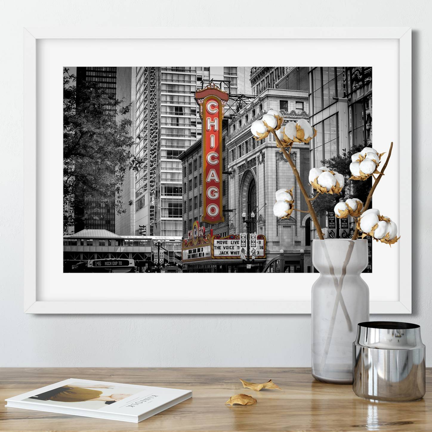 """Chicago State Street"" - LINK Fine Art America"