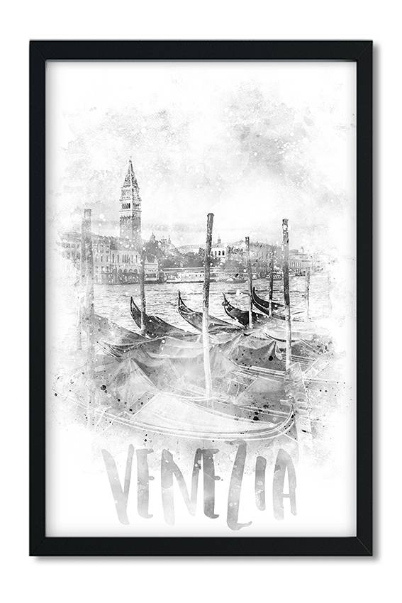 """Monochrome Art CANAL GRANDE 