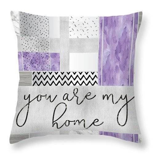 Link to Fine Art America - Throw Pillow - You are my home