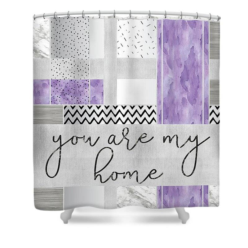 Link to Fine Art America - Shower Curtain - You are my home