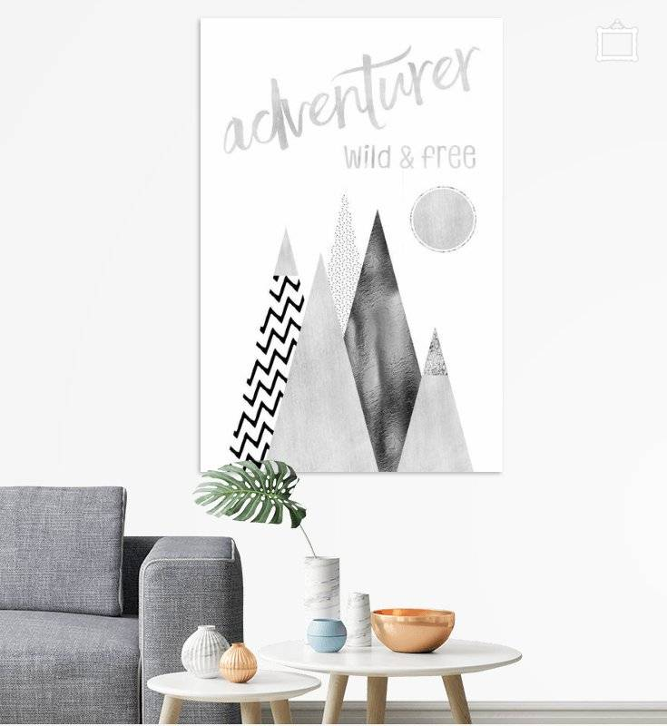 "Link - OhMyPrints - ""GRAPHIC ART Adventurer - Wild & Free"""