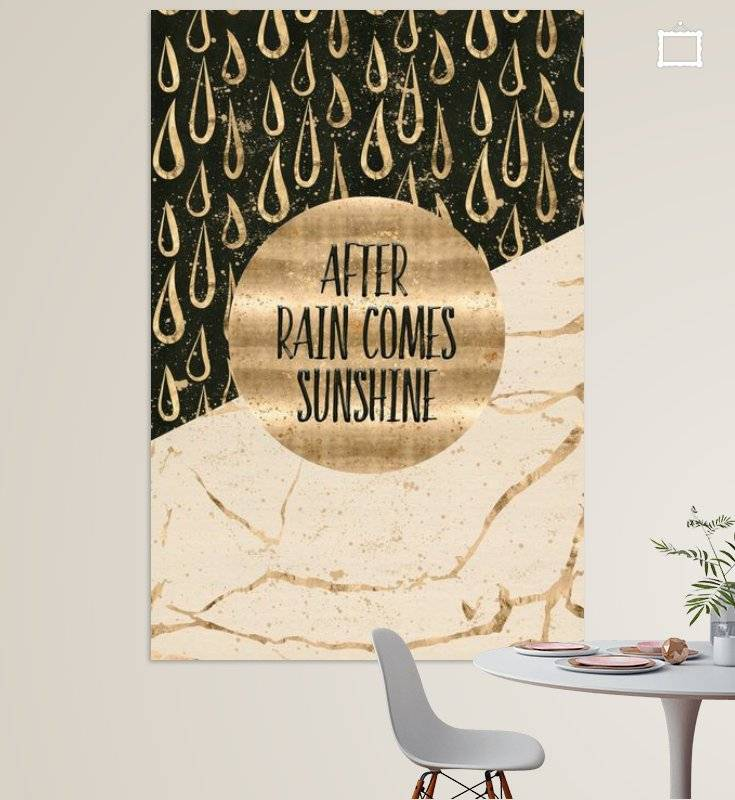 "Link - OhMyPrints - ""GRAPHIC ART After rain comes sunshine"""