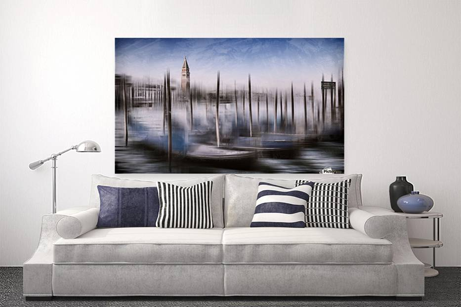 Digital-Art VENICE Grand Canal and St Marks Campanile - Link to PICTOREM