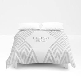 "Link SOCIETY6 Duvet Cover ""Graphic Art THINK BIG 