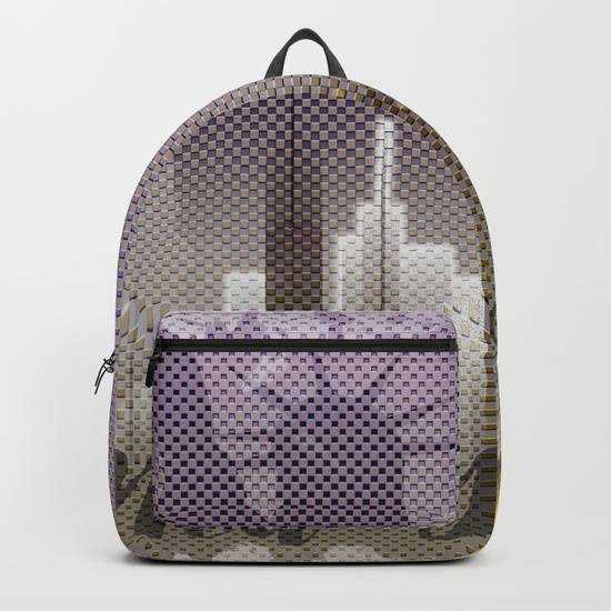 "LINK - SOCIETY6 Backpack - ""Typographic Art NEW YORK Mix No 6"""