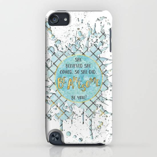 LINK - Society6 - iPod touch Slim Case