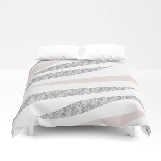 "Link SOCIETY6 Duvet Cover ""HAPPY ABSTRACT 