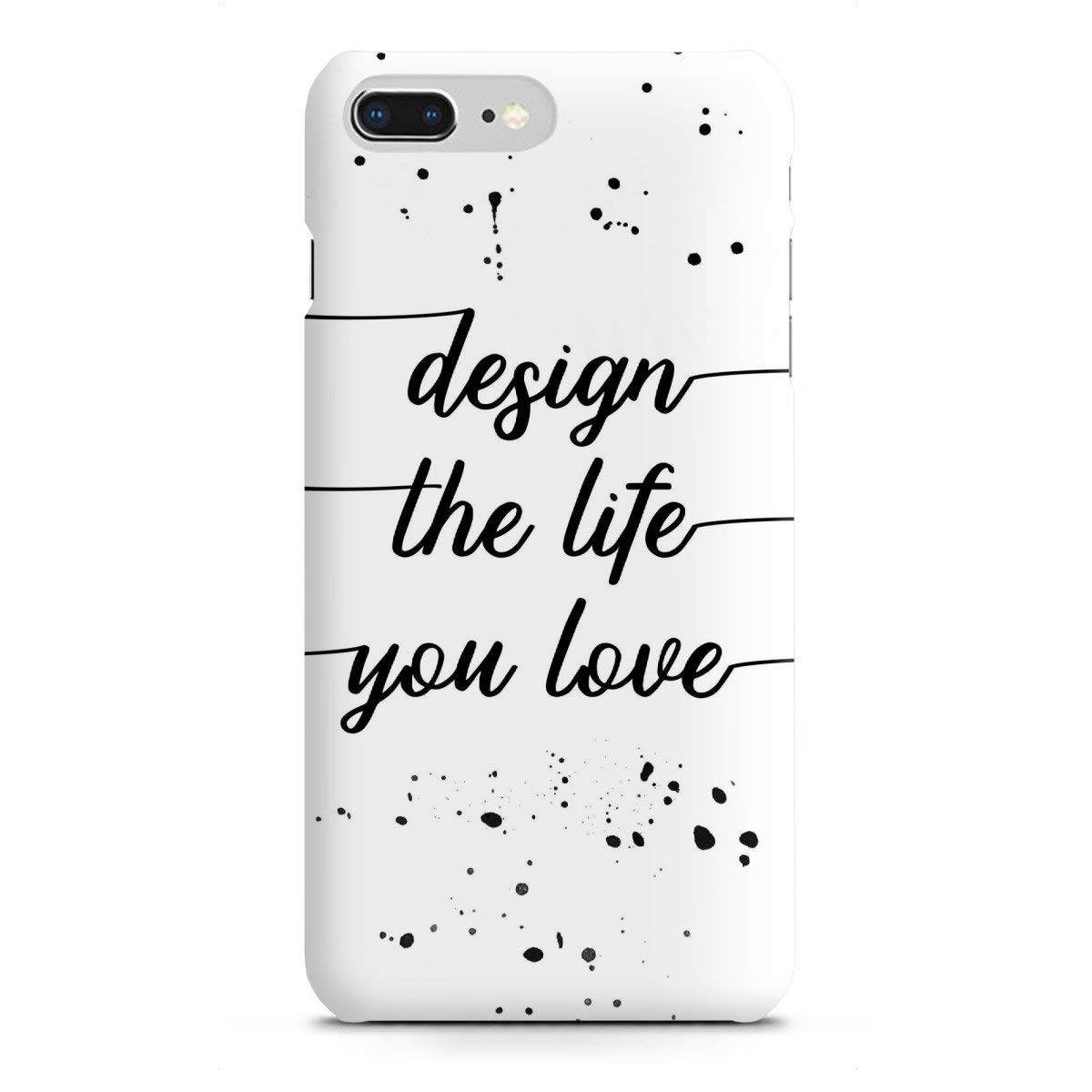 """TEXT ART Design the life you love"" Handyhülle - LINK - artboxONE Onlineshop"