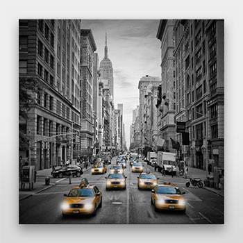 """NEW YORK CITY 5th Avenue Traffic"" - Galerie-Print - LINK - artboxONE Onlineshop"